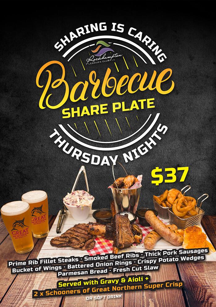 Thursday-BBQ-Share-Plate---poster