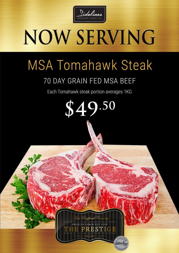 Tomahawk Steak - WEB POSTER